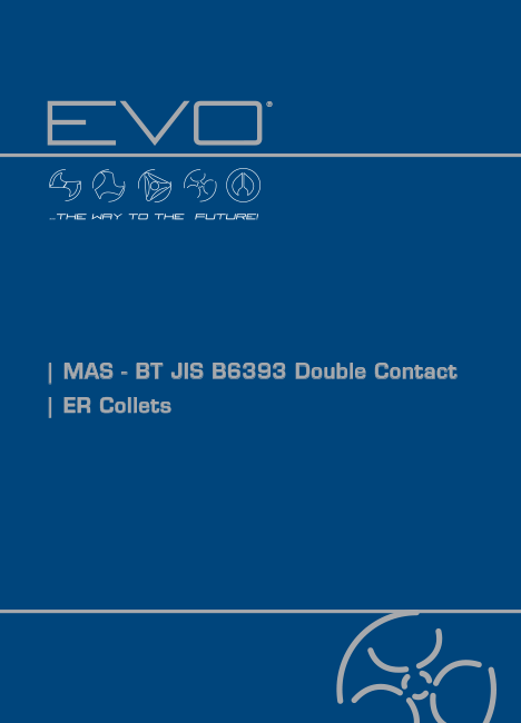 EVO catalogo Mandrini Double Contact - ER collets